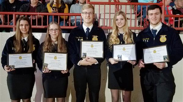FFA Students earn Keystone Degrees
