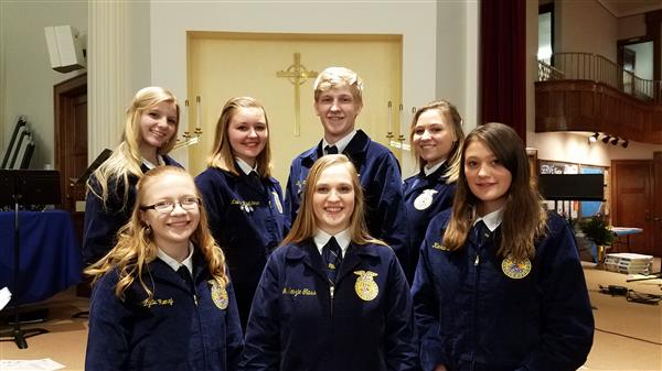 FFA competes in public speaking contest