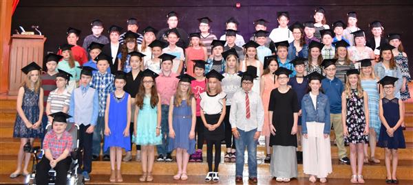 5th Grade honored at graduation program