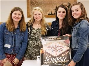 7th Grade Scrabble Team