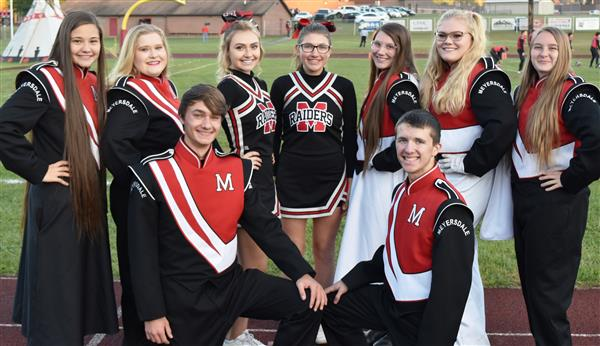 Marching Band Seniors honored