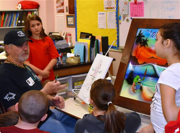 MAES hosts career day