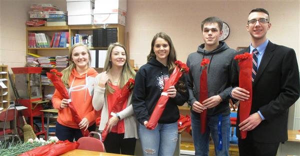 FBLA spreads love and joy