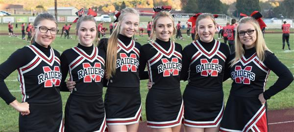 Red Raider Cheerleaders recognized