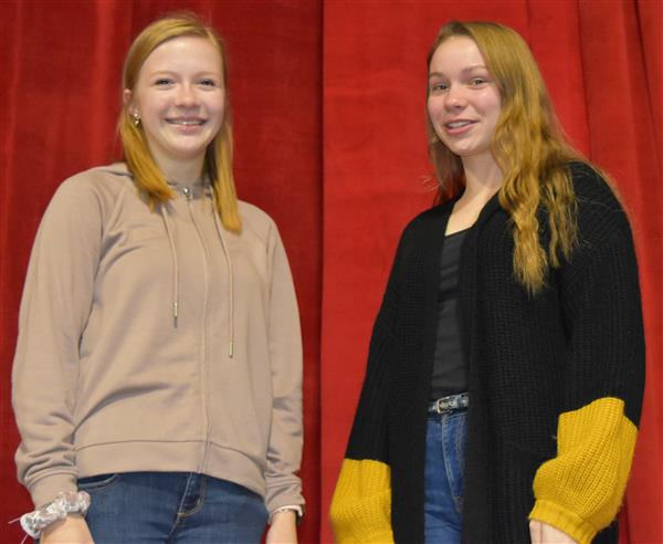 Students selected for District Band
