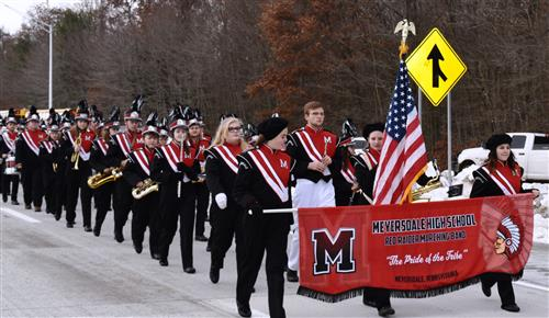 Red Raider Marching Band performs at 219 Ribbon-cutting