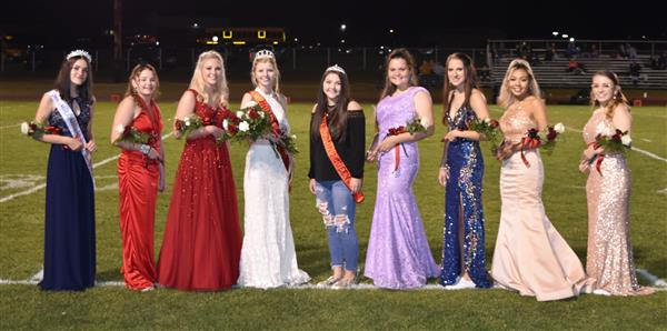 Miss Abby Shuck named Homecoming Queen
