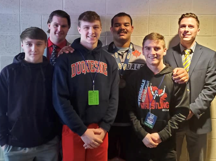 Wrestlers compete at States