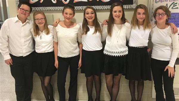 MASD students perform in Junior High County Chorus