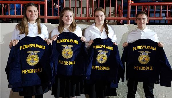 FFA jackets presented at 103rd Convention