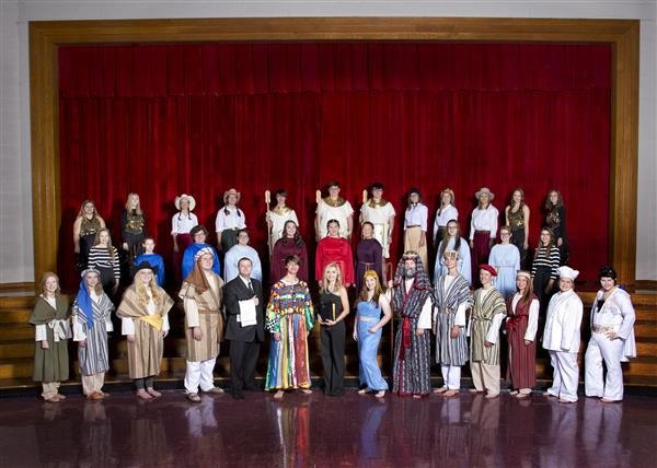 Students to present Joseph and the Amazing Technicolor Dreamcoat