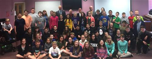 6th Grade welcomes elected officials