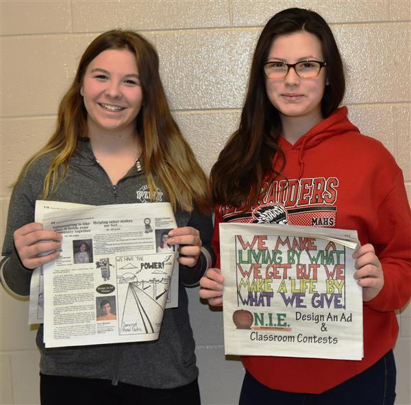 Middle students named winners in contest