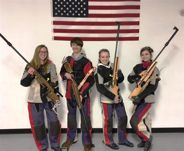 Rifle team members headed to States