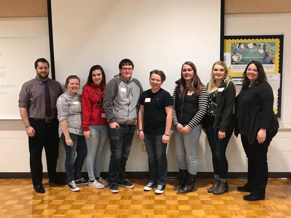 SADD students attend conference