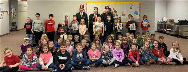 Shriners visit MAES