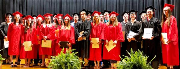 Red Raiders graduate from Tech Center